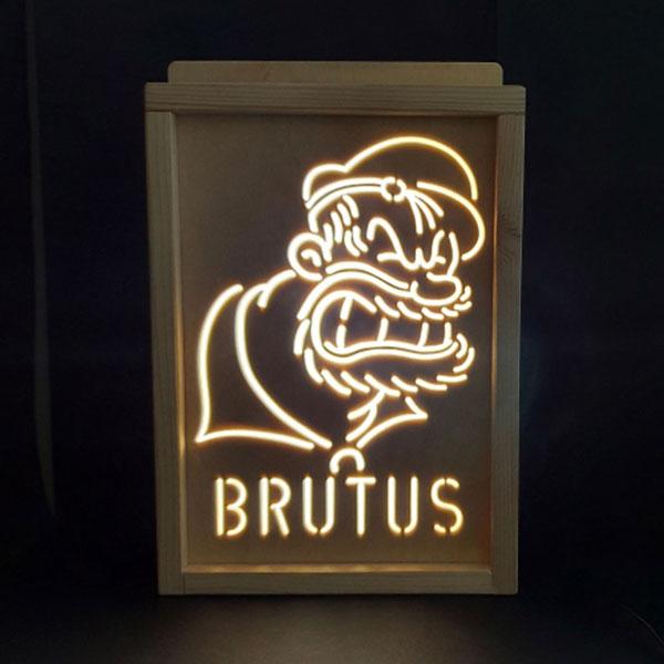 레트로 감성 부루투스 무드등 LED조명 (뽀빠이시리즈)